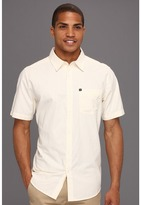 Quiksilver Train Track S/S Button Up (Harvest) - Apparel