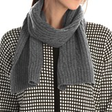 Portolano Cashmere Cable Scarf (For Women)