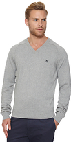 Original Penguin V-neck Cotton Jumper