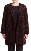 Basler, Plus Size Faux Fur Coat
