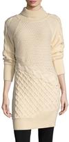 Prabal Gurung Cashmere Off Shoulder Sweater