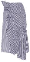 J.W.Anderson Ruffled Cotton Skirt