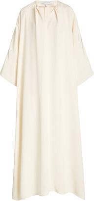 LA COLLECTION Apollo Silk Crepe Maxi Dress
