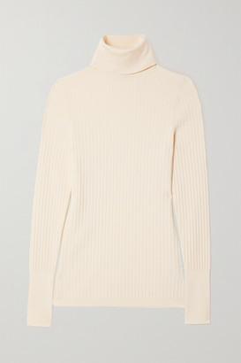 Joseph Ribbed-knit Turtleneck Sweater - Ivory