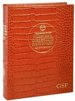 Gump's Graphic Image Personalized Croc Embossed Dictionary