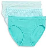 Jockey Three-Pack Elance Stretch Bikini Briefs