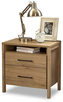 South Shore Gravity Two-Drawer Nightstand