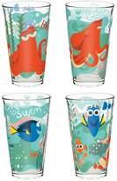 Zak Designs Disney / Pixar Finding Dory 4-pc. 16-oz. Glass Tumbler Set