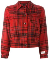 Woolrich checked cropped jacket