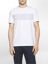 Calvin Klein Slim Fit Micro Block Stripe T-Shirt