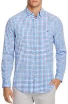 Vineyard Vines Lake Grove Plaid Performance Tucker Slim Fit Button-Down Shirt