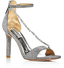 Badgley Mischka Women's Erika Crystal Embellished High-Heel Sandals