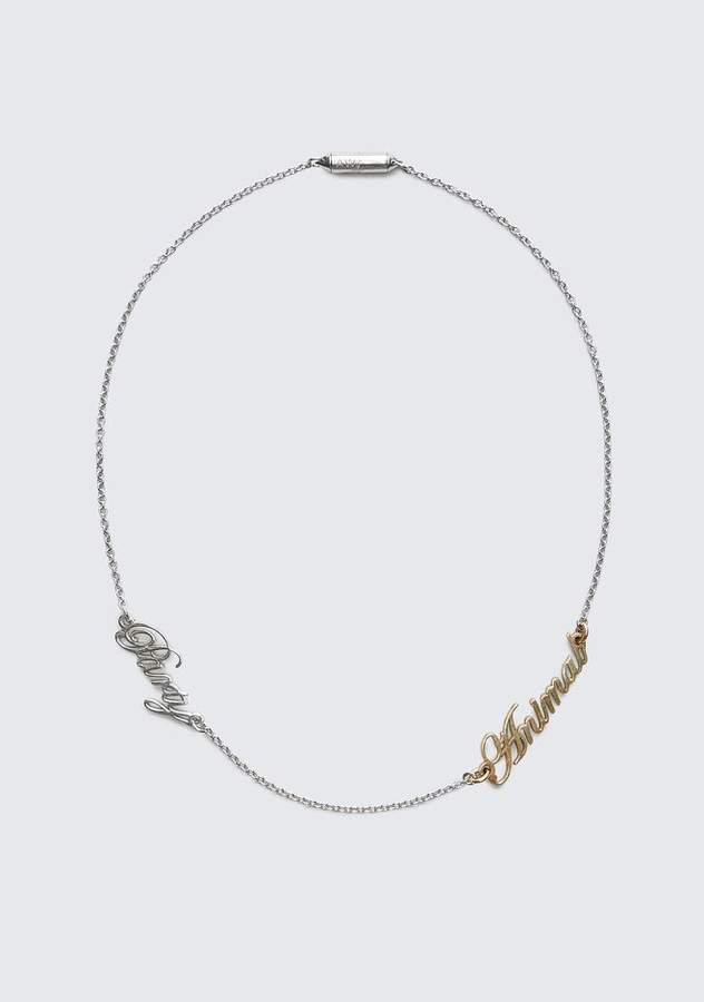 Alexander Wang PARTY ANIMAL NECKLACE Jewelry