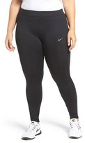Nike Plus Size Women's Power Essential Dri-Fit Running Tights