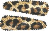 Goody Gumdrops Leopard Satin Medium Snaps