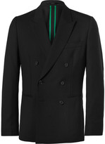 Paul Smith Soho Slim-Fit Double-Breasted Wool Suit Jacket