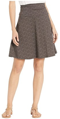 Toad&Co Chaka Skirt (Buffalo Herringbone Print) Women's Skirt