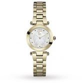 Gc Y07008L1 Ladychic Gold Tone Watch