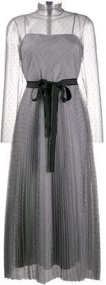 RED Valentino high neck tulle dress
