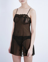 Wacoal Sheer Enough lace chemise