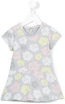 Kenzo floral print dress - kids - Cotton/Spandex/Elastane - 24 mth