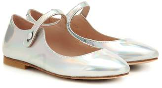 Bonpoint Belinda leather ballet flats