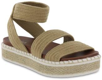 Mia Dany Flatform Espadrille Sandal