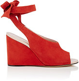 Derek Lam Women's Maudex Suede Wedge Sandals