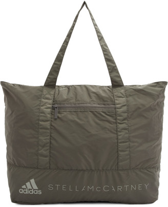 adidas by Stella McCartney Brown Packable Travel Tote