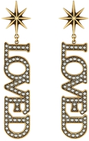 Gucci Loved Pendant Pearl Earrings