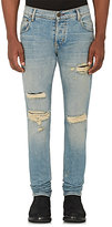 En Noir Men's Thermal Repair Skinny Jeans