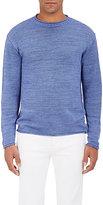 Inis Meain Men's Linen Crewneck Sweater
