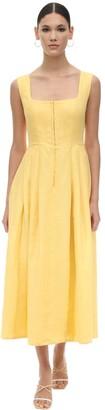 Gioia Bini Exclusive Chiara Linen Dirndl Dress