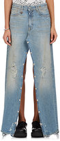 R 13 Women's Snap Slouch Jeans/Skirt