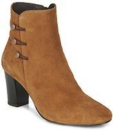 Andre MAJESTEE women's Low Ankle Boots in Brown