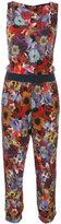 Diesel floral print jumpsuit - women - Viscose - XS