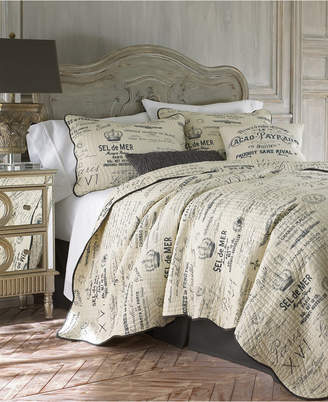 Levtex Home Histoire Gray Twin Quilt Set