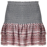 Veronica Beard Moore Tiered Mini Skirt