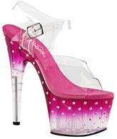 Pleaser USA Women's Stardust 708T Ankle-Strap Sandal