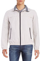 Nautica Zip-Front Mock-Neck Coat