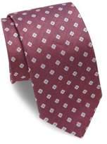 Eton Medallion Linen & Silk Tie