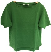 Cédric Charlier Green Cotton Top for Women