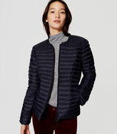 LOFT Pintucked Puffer Jacket