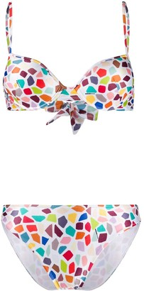 Missoni Mare Tiled Print Bikini Set
