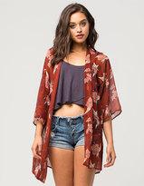 Hip Floral Womens Kimono