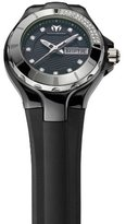 Technomarine Women's 110027 Cruise Ceramic 3 Hands Black Dial Watch
