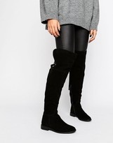 Asos KAO Suede Over The Knee Boots