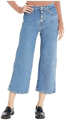 Levi's Womens Mile High Wide Leg (Stoned Out) Women's Jeans