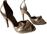 BCBGMAXAZRIA High, Golden Sandals