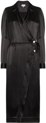 Ganni Belted Midi Dress